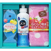CBCギフト 洗剤ギフト CBRK-8ジョイらくらくキッチンセット 325487 1ケース(30セット入) (取寄品)