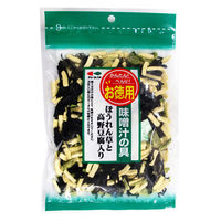 味噌汁の具 ほうれん草と高野豆腐 1個