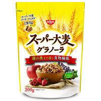 日清シスコ スーパー大麦 グラノーラ