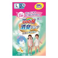 【100円サンプル】 グーン パンツ L(9~14kg) 1パック(2枚入) 消臭パンツ 大王製紙