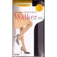 グンゼ Walker ストッキング ブラック M-L LSP663