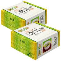 片岡物産 辻利 三角ティーバッグ 玄米茶 1セット(100バッグ:50バッグ入×2箱)