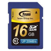 TeamSDHCカード16GB clas