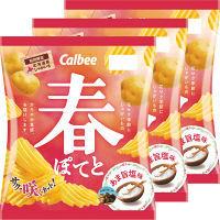 カルビー 春ぽてとあま旨塩味 65g 1セット(3袋入)