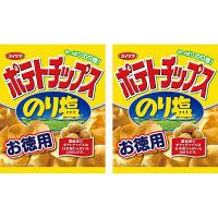 コイケヤ(湖池屋)130gお徳用ポテトチップス のり塩 1セット(2袋入)
