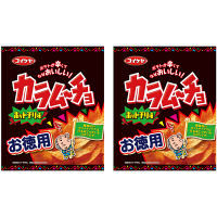 コイケヤ(湖池屋)125gお徳用カラムーチョチップス ホットチリ味 1セット(2袋入)