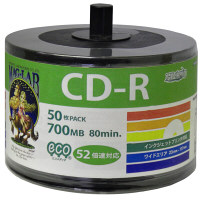 CD-R データ用 52倍速 エコパック