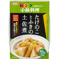 SSKセールス 【レンジでおいしい!小鉢料理】たけのことふきの土佐煮 120g 1個 <化学調味料無添加>