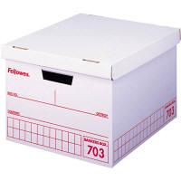 収納ボックス フェローズ バンカーズボックス 703 A4用 赤 9枚