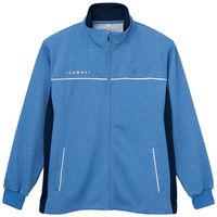自重堂 ハーフジャケット WH90245 ブルー 3L 介護ユニフォーム 1枚 (取寄品)