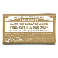 マジックソープバー(magic soap)石鹸 サンダルウッド&ジャスミン 140g サハラ・インターナショナル