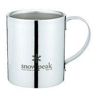 スノーピーク SNOWPEAK 食器 マグカップ スノーピークロゴダブルマグ 240 MG-112R