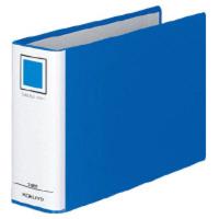 コクヨ チューブファイルエコ A5横50mmとじ 2穴青 1セット(10冊:1冊×10)