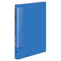 コクヨ クリヤーブックウェーブカット替紙式 A4縦 17枚ポケット 青 ラ-T720B 1セット(10冊:1冊×10)