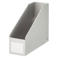 コクヨ ファイルボックス縦・横用A4収容幅94mmグレー 1セット(25冊)