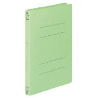 コクヨ フラットファイルV樹脂製とじ具 A5縦 15mmとじ 緑 フ-V12G 1セット(100冊:1冊×100)