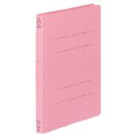 コクヨ フラットファイルV樹脂製とじ具 A5縦 15mmとじ ピンク フ-V12P 1セット(100冊:1冊×100)