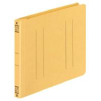 コクヨ フラットファイルV樹脂製とじ具 B6横 15mmとじ 黄 フ-V18Y 1セット(100冊:1冊×100)