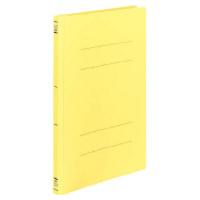 コクヨ フラットファイルPP樹脂製とじ具A4縦15mm黄 1セット(100冊:1冊×100)