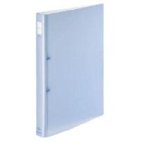 コクヨ ポップリングファイル A4縦内径22mm2穴 青 1セット(30冊:1冊×30)