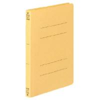 コクヨ フラットファイルV樹脂製とじ具 A5縦15mmとじ 黄 フ-V12Y 1セット(100冊:1冊×100)