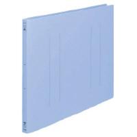 コクヨ フラットファイルPP A3横15mmとじ2穴 青 1セット(100冊)