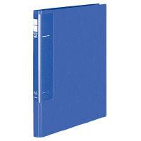 コクヨ レターファイル<ラクアップ>再生PP表紙 A4縦 250枚収容 2穴 青 フ-U510B 1セット(30冊:1冊×30)