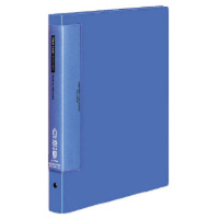 コクヨ クリヤーブックウェーブカット替紙式 A4縦 25枚ポケット 青 ラ-T730B 1セット(16冊:1冊×16)