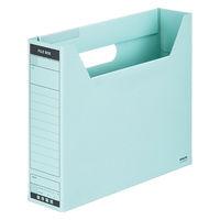 コクヨ ファイルボックスーFS Bタイプ A4横 収容幅68mm 青 A4-SFBN-B 1セット(25冊:1冊×25)