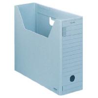 コクヨ ファイルボックスーFS Hタイプ A4横 収容幅94mm 青 A4-LFH-B 1セット(25冊:1冊×25)
