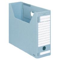 コクヨ ファイルボックスーFS DタイプA4横94mm青 1セット(25冊)