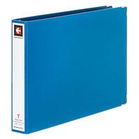 コクヨ データバインダーT 28mmとじ 縦8.5×横12 17穴 約280枚収容 青 EBT-1712 1セット(20冊:1冊×20)