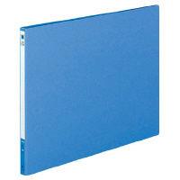 コクヨ ロングレバーファイル(Z式) B4横 12mmとじ 青 フ-2309NB 1セット(30冊:1冊×30)