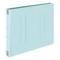コクヨ フラットファイルW厚とじ A4ヨコ 100冊 ブルー フ-W15NB