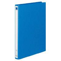 コクヨ Tファイル色厚板紙 A4縦 20mmとじ2穴 青 1セット(30冊)