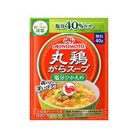 丸鶏がらスープ 塩分ひかえめ 袋40g