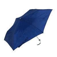 軽量スリム折畳傘ブルー