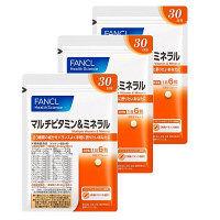 マルチビタミン&ミネラル 約90日分(1袋(180粒)×3) ファンケル サプリメント