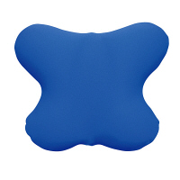 MOGU 腰を楽にするクッション(カバー付)青 744988 (取寄品)