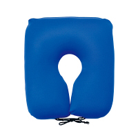 MOGU 尾骨を浮かすシートクッション(カバー付)青 745166 (取寄品)