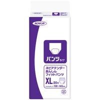 ネピアテンダー 大人用紙おむつ パンツタイプ XL 1箱(48枚:16枚入X3パック) 王子ネピア (取寄品)