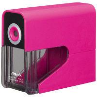 電動鉛筆削り 乾電池式 ピンク アスカ