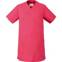 ミズノ ユナイト 医療白衣 マタニティスクラブ MZ0124 ティーローズ(ピンク) L (取寄品)