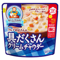 江崎グリコ クレアおばさんの具だくさんクリームチャウダー 1食