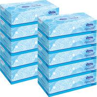 ティッシュペーパー 保湿 180組(5箱入) 1セット(2パック) クリネックスティシューアクアヴェール 日本製紙クレシア