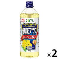 J-オイルミルズ 味の素 さらさらキャノーラ油健康プラス 910g  1セット(2本入)