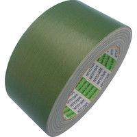 日東電工CSシステム 布着色テープ No.756 50mm×25m 緑 756-50 GN 1巻(25m) 126-8155 (直送品)