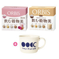 ORBIS(オルビス) キレイやせ応援!雑穀シェイク2週間セット(マグカップ付き) ダイエットドリンク・スムージー