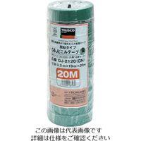 トラスコ中山 TRUSCO 脱鉛タイプビニールテープ 19mmX20m 10巻入り グリーン GJ2120 126ー2220 (直送品)