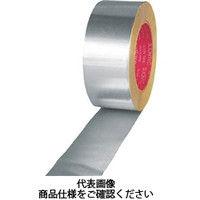 日立マクセル スリオン アルミ粘着テープ(ツヤあり)50mm 8160002050X50 1巻 351ー9147 (直送品)